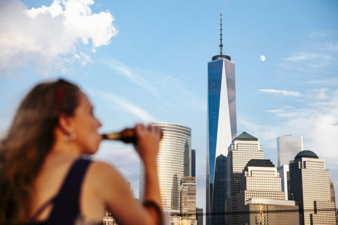 binge drinking in NYC